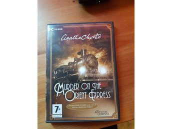 Agatha Christie, murder on the orient express Pc spel