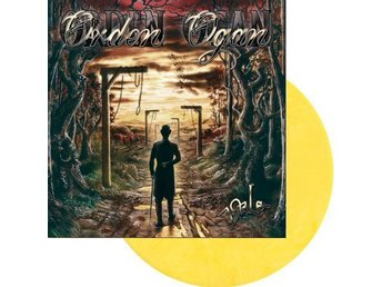 Orden Ogan -Vale lp dark yellow vinyl ltd 250 copies 2018