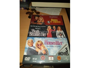 Bird ona wire/Death Becomes Her/Housesitter - Goldie Haw
