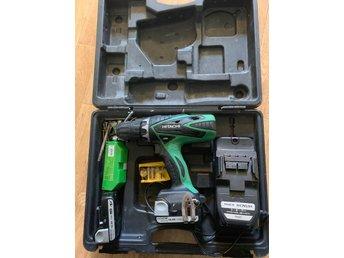 Berömda Hitachi DS14DSFL 14,4V Skruvdragare (356672674) ᐈ Köp på Tradera HK-55