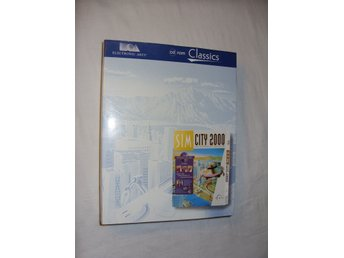 Sim City 2000 Special Edition Mac och PC CD ROM spel