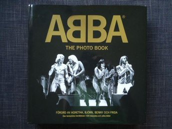 ABBA THE PHOTO BOOK DELUXE UPPLAGAN MED DVD
