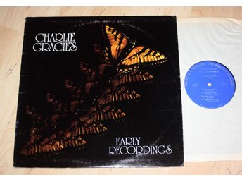 CHARLIE GRACIE Early Recordings  Rockabilly US LP  1950's