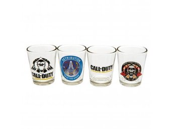Call Of Duty Snapsglas Infinite Warfare 4-pack
