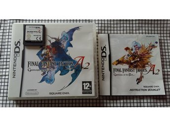 Final Fantasy Tactics: A2 - Nintendo DS (komplett)