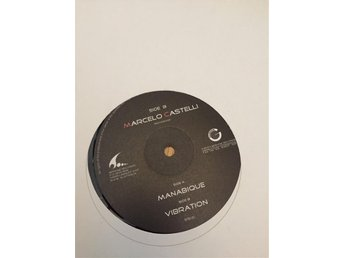 "Marcelo Castelli - manabique, 12"" electronica, tribal house, techno"
