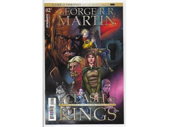 George R.R. Martin's A Clash of Kings # 2 Cover B NM Ny Import