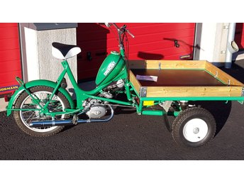 FABRIKSNY Crescent Transport moped 1975 !!