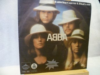 ABBA , Singel , DANCING QUEEN & THAT´S ME , Made In YUGOSLAVIA , RARE