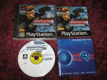 FIGHTING FORCE 2 - PLAYSTATION ONE - KOMPLETT