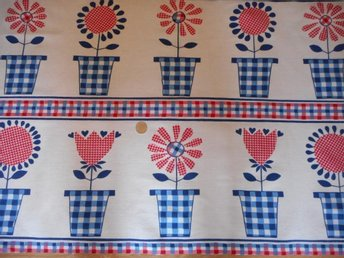 LÄCKER  TYGBIT   GINGHAM  des Louise Fougstedt   70 tal