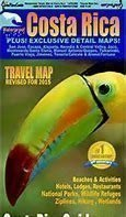 Travel Map, Costa Rica