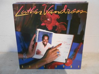 SOUL LP REA !!!!! Luther Vandross - Busy Body !!!!!