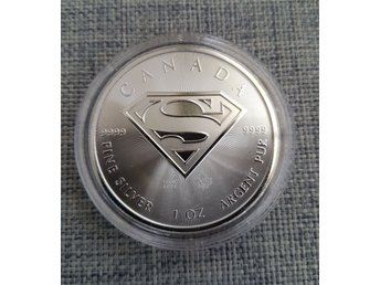 1 oz Superman coin Canada