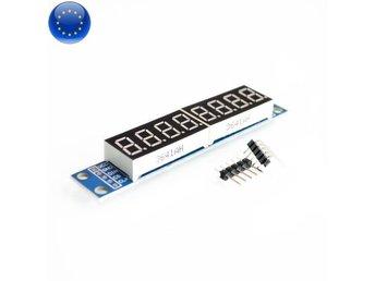 MAX7219 LED / Display 8 Siffror / Punkter för A   (354033305