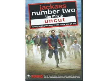 JACKASS NUMBER TWO THE MOVIE UNCUT   (SVENSKT TEXT)