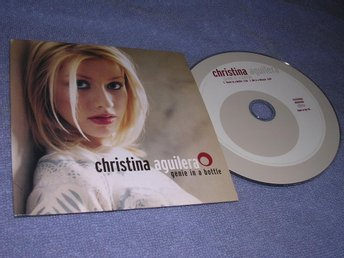 Christina Aguilera - Genie In a Bottle (cds) 2 trk Nyskick!!
