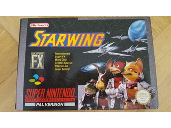 Starwing Pal version till Super Nintendo (SNES)