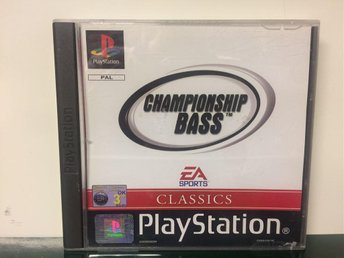 Championship Bass - Playstation 1/PS1 - MYCKET FINT SKICK - Komplett