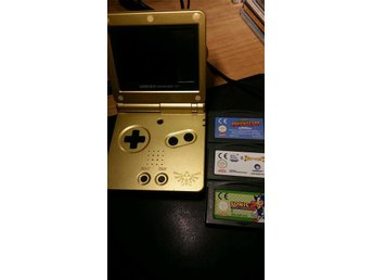 Nintendo Gameboy Advance SP Zelda Edition