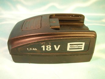 Batteri Atlas Copco 18V 1,3Ah Li-ion .... 4211542682 - Lenhovda - Batteri Atlas Copco 18V 1,3Ah Li-ion .... 4211542682 - Lenhovda