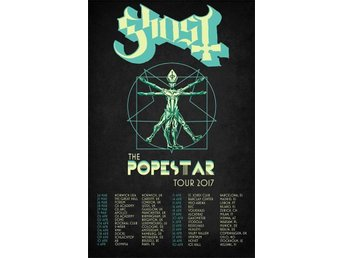 2 sittplatser Ghost Hovet The Popestar Tour 2017
