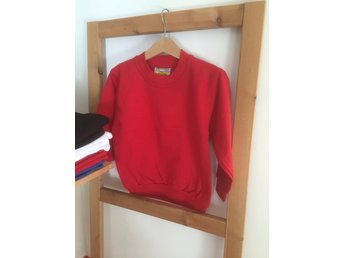 Sweatshirt/Collage - Red-Röd, storlek 110/120