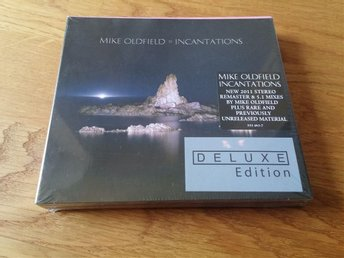 Mike Oldfield - Incantations Deluxe remastered 2 CD DVD Inplastad - Norrköping - Mike Oldfield - Incantations Deluxe remastered 2 CD DVD Inplastad - Norrköping