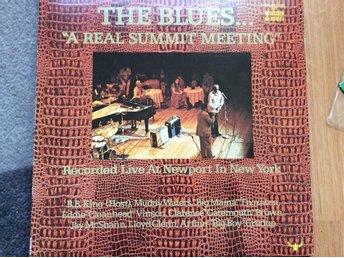 THE BLUES ... a real summit meating div artister Live at newport ,New York 1973
