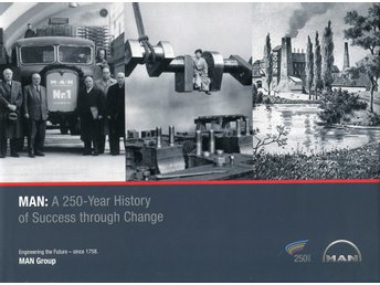 MAN - A 250-Year History of Success Through Change