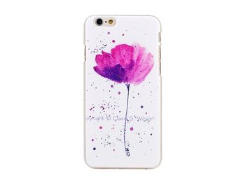 iPhone 6/6s Plus Lila/Magenta Blomma Skal