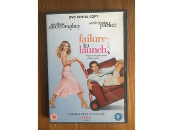 FAILURE TO LAUNCH - MATTHEW McCONAUGHEY - DVD Mkt Bra Skick!