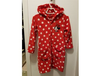 Gosig morgonrock Minnie Mouse strl 122/128