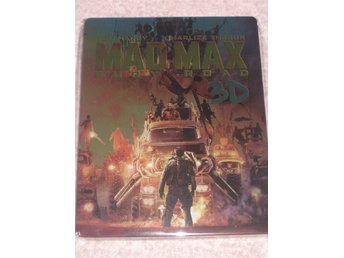 MAD MAX FURY ROAD 3D + 2D (SWEDISH TEXT) STEELBOOK