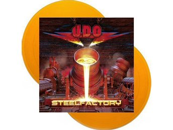 UDO / U.D.O. -Steelfactory DLP orange vinyl ltd 100 Accept