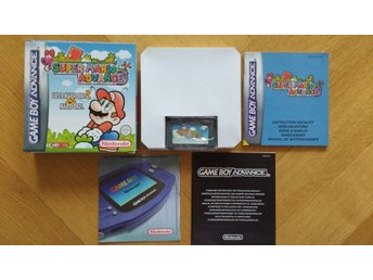 GBA/Game Boy Advance: Super Mario Bros 2 (samlarskick!)