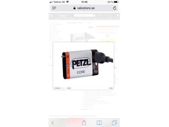 Petzl core laddningsbart batteri