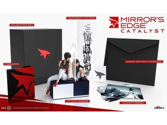 MIRROR'S EDGE CATALYST  Collector's Edition, Xbox One - (HELT NY)  Oöppnad.