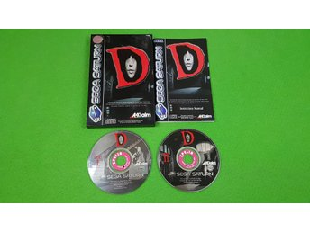 D English Version KOMPLETT Sega Saturn