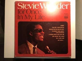 STEVIE WONDER - For Once In My Life (LP) 1968
