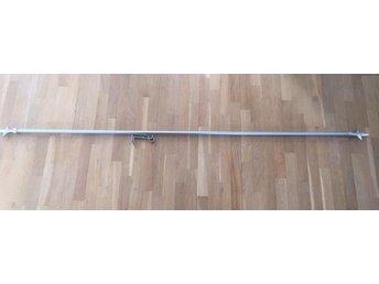 Gardinstång justerbar längd från cirka 1,75 meter till 3,2 meter - Sollentuna - Gardinstång justerbar längd från cirka 1,75 meter till 3,2 meter - Sollentuna