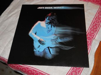 JEFF BECK--Wired.  LP