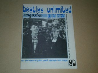 Beatles Unlimited #90 (Mars / April 1990) - Fint Skick!