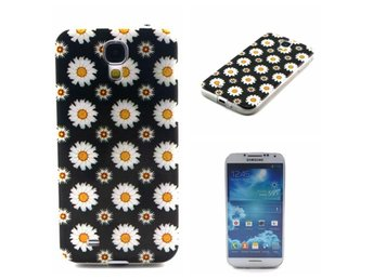 Samsung Galaxy S4 Snygg Silikon Gummi TPU Skal svart blommor - Gävle - Samsung Galaxy S4 Snygg Silikon Gummi TPU Skal svart blommor - Gävle