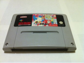SNES: Krusty's/Krustys Super Fun House (Endast kassett)