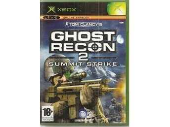 GHOST RECON 2 - SUMMIT STRIKE  - XBOX spel