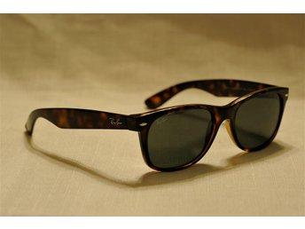 Nya Ray-Ban RB2132 902/58 New Wayfarer Sunglasses Tortoise glas G15 55mm Large - örebro - Nya Ray-Ban RB2132 902/58 New Wayfarer Sunglasses Tortoise glas G15 55mm Large - örebro