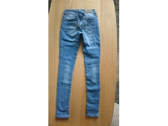 Jeans, blå, stretch, stuprör, Brooklyn supply bleeckers new york,skinny mid 26 - Karlstad - Jeans, blå, stretch, stuprör, Brooklyn supply bleeckers new york,skinny mid 26 - Karlstad