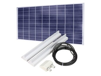 Solpanel 135W med solpanelkit 68cm