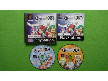 Grandia KOMPLETT ENGELSK TEXT  PS1 Playstation psone